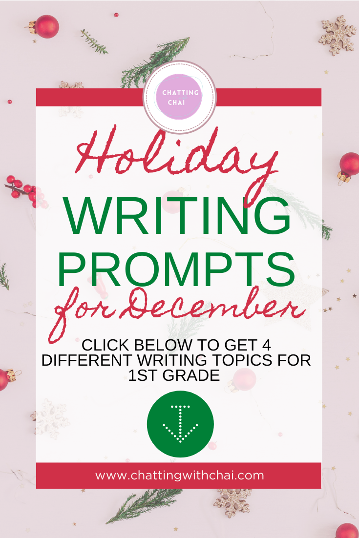 winter writing prompts for first grade