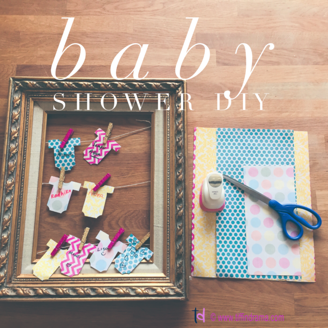 baby shower DIY
