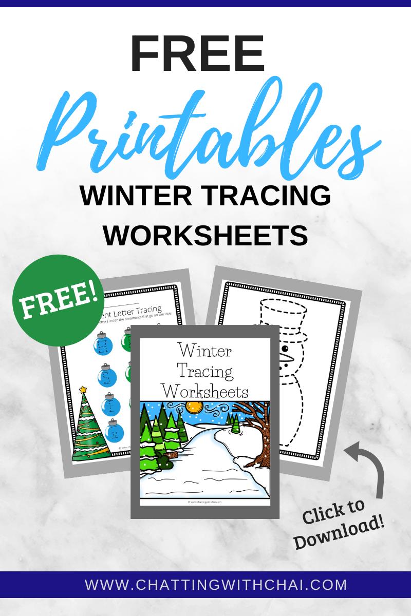 Tracing Worksheets Free PDF