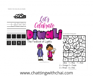 Diwali Activities Kids Free