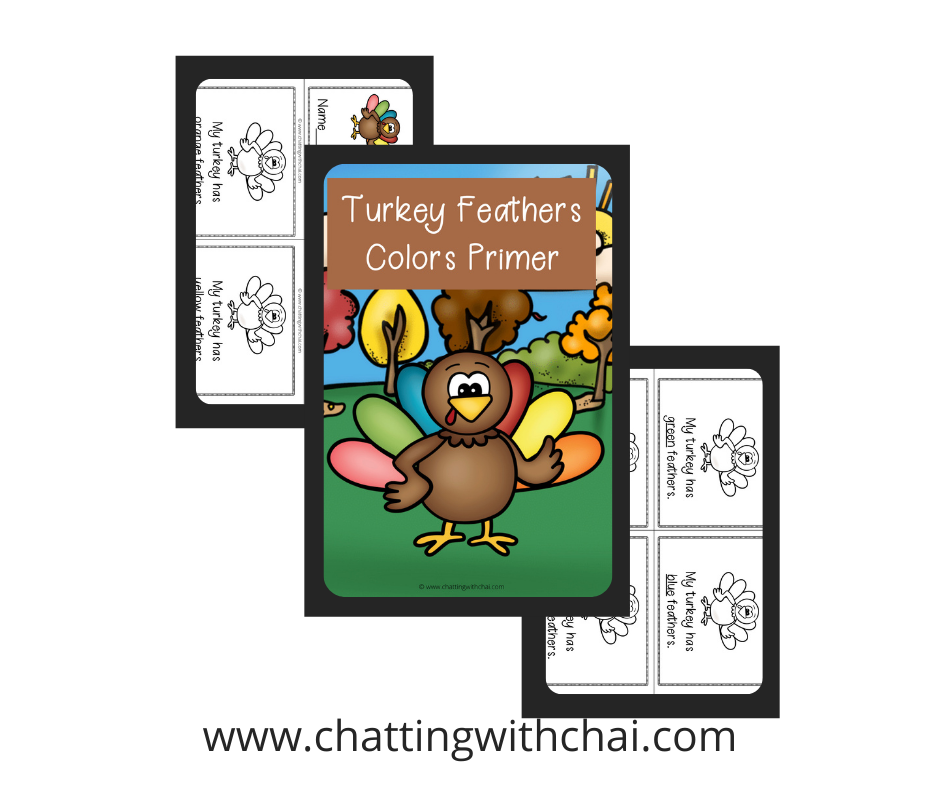 Turkey Feathers Colors Primer