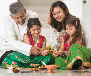 diwali with kids