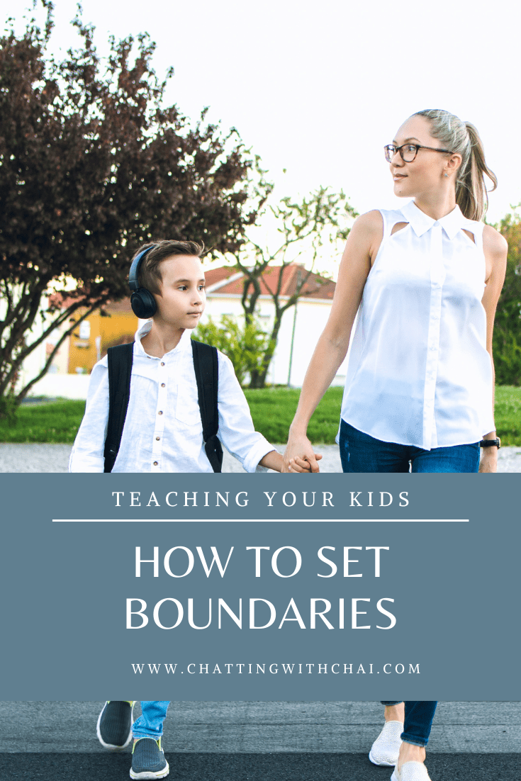 how to teach your kids to set healthy boundaries