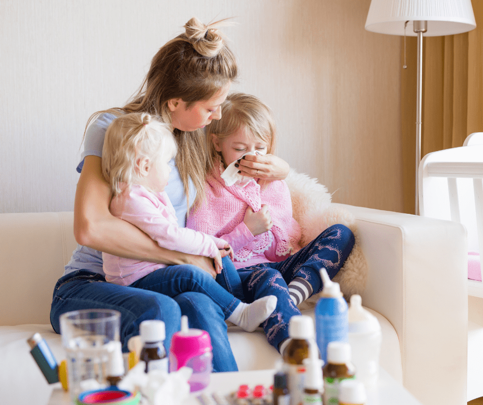 what to do when your kid is sick